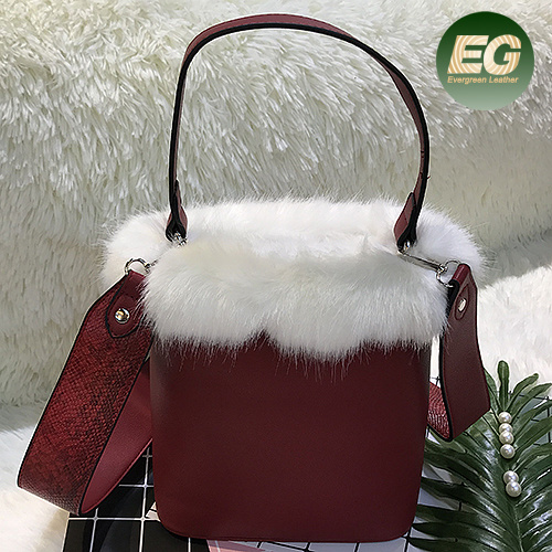 79fa0db2e0 Fur Ladies Bags Fashion Woman Shoulder Bag Leisure Girl Hand Bags with  Cheap Price Sh201 pictures