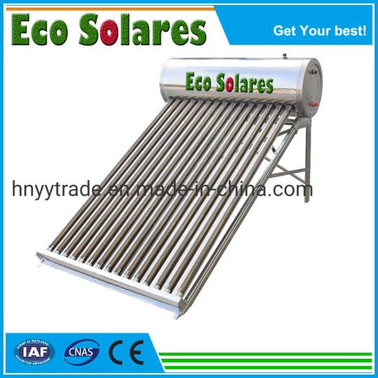 Vacuum Tube Solar Energy Heating Water Heater (NP-460-58/1800-30) Calentador Solar De 30 Tubos