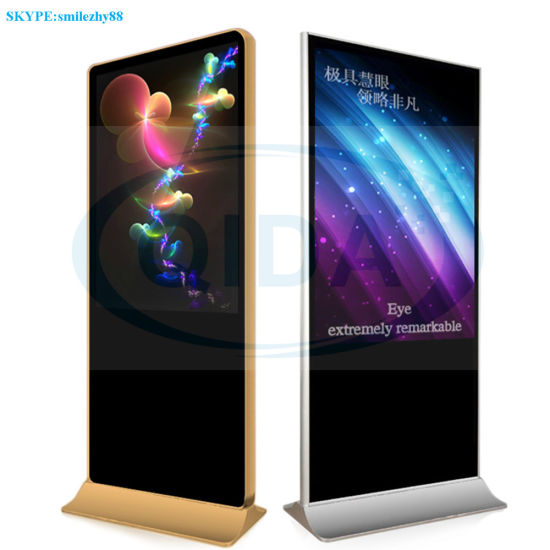 China OEM 1920*1080 WiFi Network Touch Screen Advertising