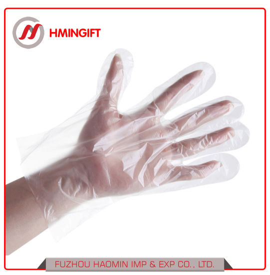 60g Disposable Gloves PE Gloves Disposable Plastic Gloves Food Medical Barbecue Household Cleaning