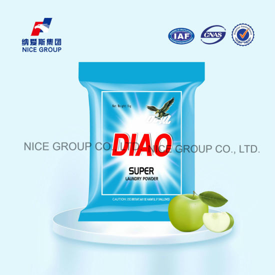 Diao Brand with Active Matter Super Laundry Detergent Powder
