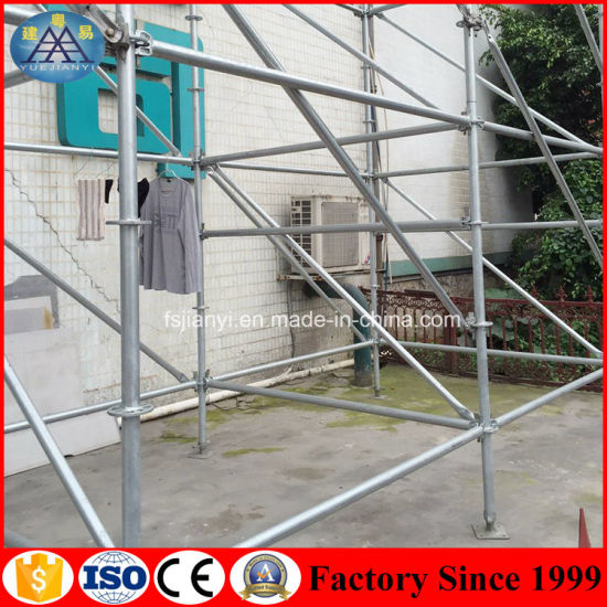 Factory OEM Production Competitive Price Construction Scaffolding Ringlock Fixed Clamp pictures & photos