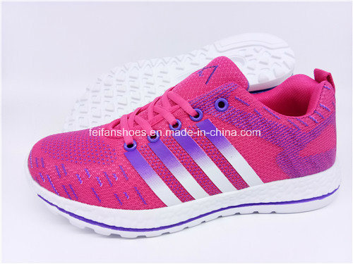 Hotsale Women Running Sport Shoes Sneaker Shoes Footwear with Customized (FZJ0115-3)