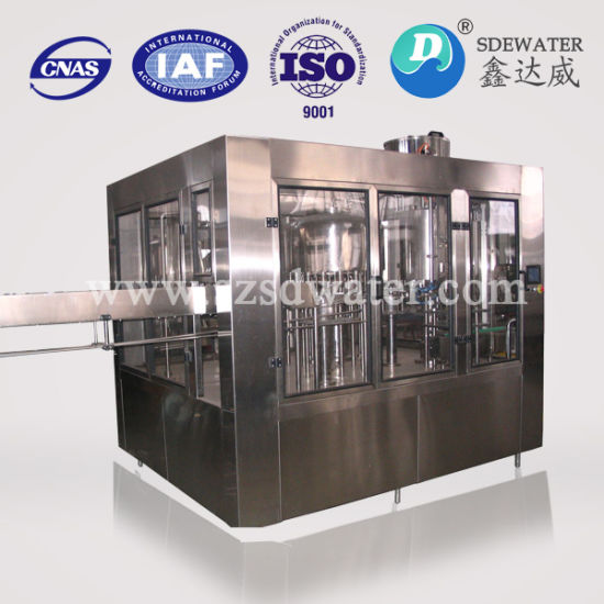 3-in-1 Washing Filling Capping Bottled Water Machine pictures & photos