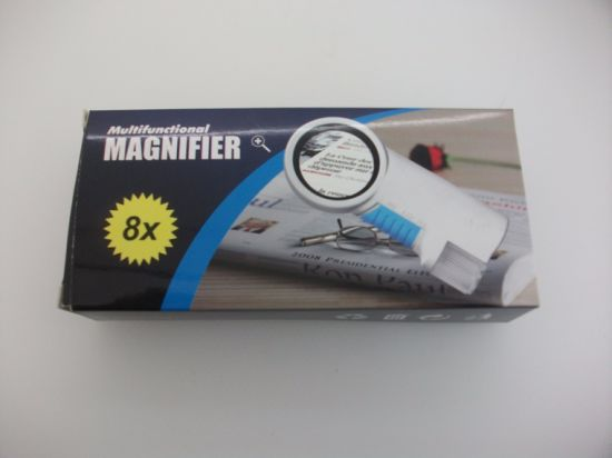 TH-7010 Helping Hand magnifier with LED Magnifying Glass pictures & photos