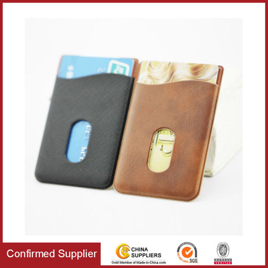 1a5115422c586 Universal 3m Adhesive Sticker Credit Card Wallet Mobile Phone Card Holder