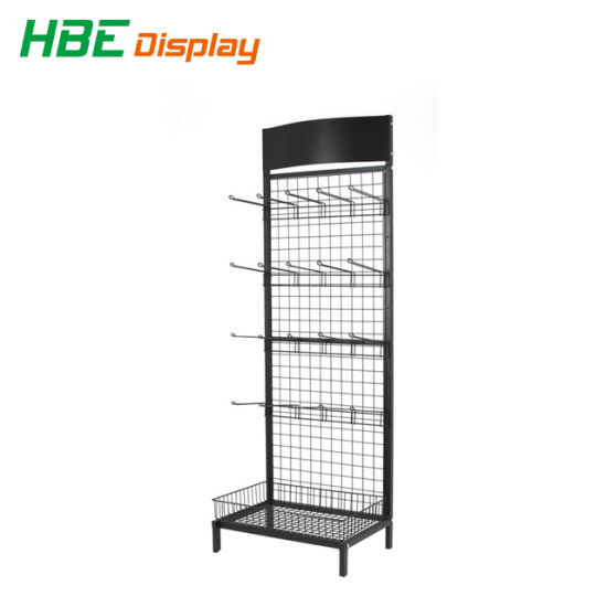China Wholesale Metal Wire Display Rack Basket Display pictures & photos
