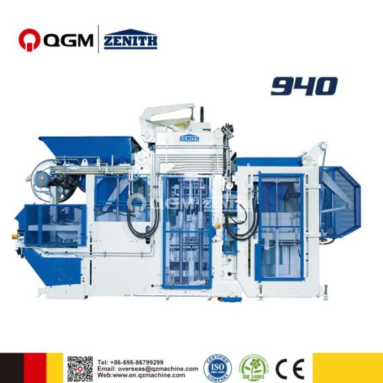 Germany Zenith 940 Fully Automatic Mobile Multilayer Block Making Machine pictures & photos
