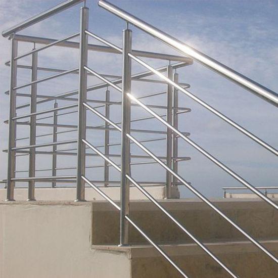China Horizontal Balcony 316 Stainless Steel Rod Railing ...
