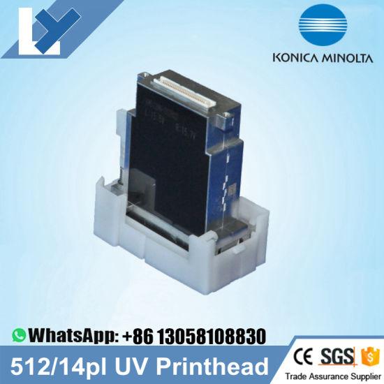 Original New Konica Minolta Km512 Mh 14pl Printhead UV for Allwin Human Jhf  Liyu Taimes Xuli Myjet Printer Konica 512 14pl Head
