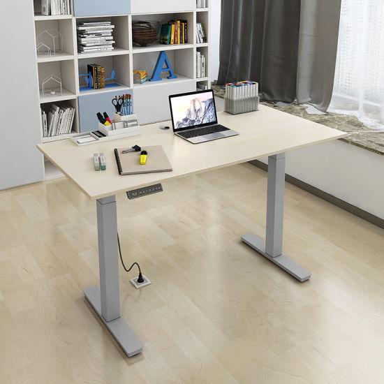 Adjustable Standing Desk Office On Single Motordual Motor Ergonomic Electric Height Adjustable Standing Desk China