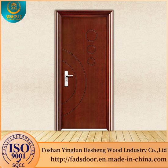 China Desheng Wooden Double Door Frames Designs India - China Wooden ...