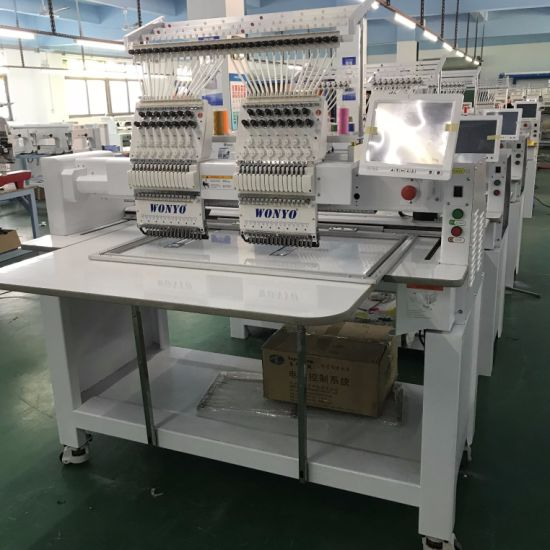 2 Head Embroidery Machine with Groz-Becket Needle and Wilcome Software pictures & photos