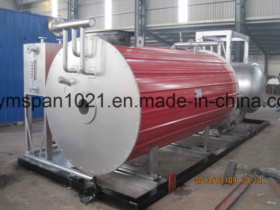 China 8000000kcal Horizontal Oil Fired Boiler Thermic Heating ...