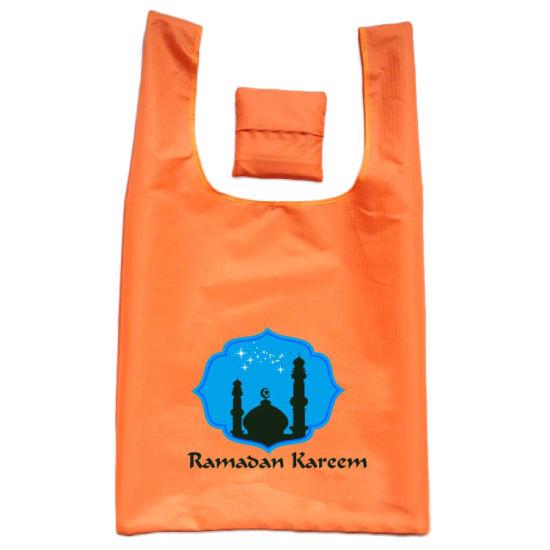 Wholesale Ramadan Kareem Durable Supermarket Portable Foldable Shopping Bags