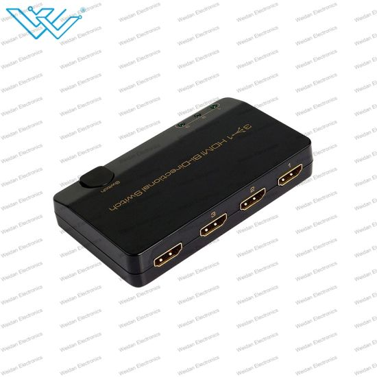 1.4 HDMI 3 Port Bi-Direction Switcher Manual Switch 3D Full HD 1080P pictures & photos