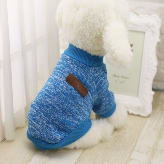 32c32d58b82e Cute Dog Sweater Puppy Dog Clothes Outfit Pet Cat Cachorro Jacket Coat for Small  Dogs
