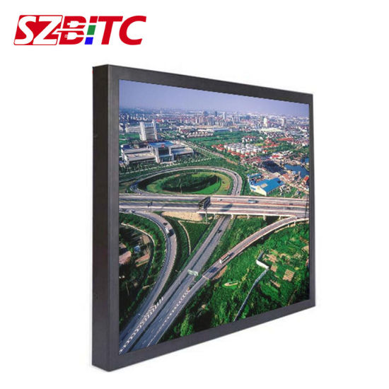 "75"" LCD Ad Player Full HD Display Monitor"
