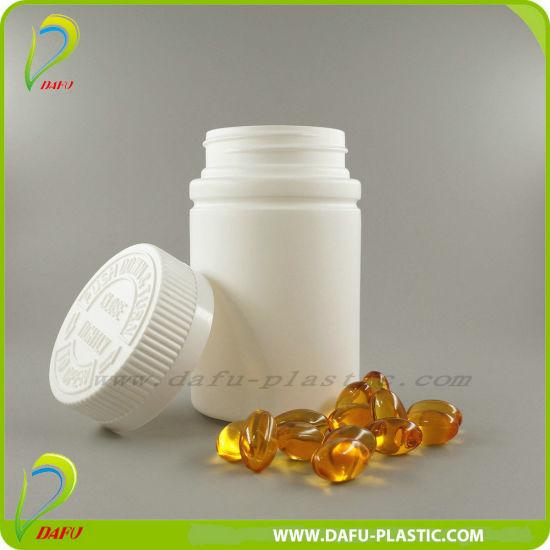 Plastic Products 120ml Plastic Medicine Bottle with Plastic Cap