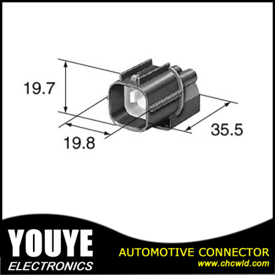 automotive engine wiring harness waterproof connector 6098-6559 pictures &  photos