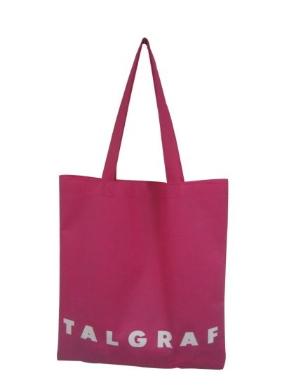 Eco Recycled Waterproof Custom Branded Canvas Promotion Sling Tote Cotton Shopping Bag