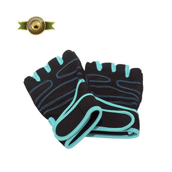 Half Finger Aero Stripe Fabric Cycling Gloves Breathable Gel Anti-Shock Sports Gloves MTB Bike Bicycle Gloves