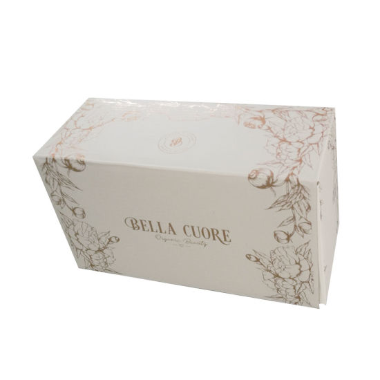 Luxury Design Logo Hot Stamping Color Foil Printing Paper Box