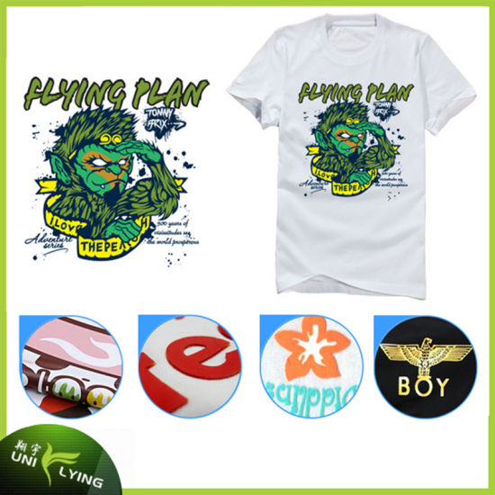 9fbbe432 Custom T Shirts Screen Print Plastisol Heat Transfers for T-Shirts Labels  pictures & photos