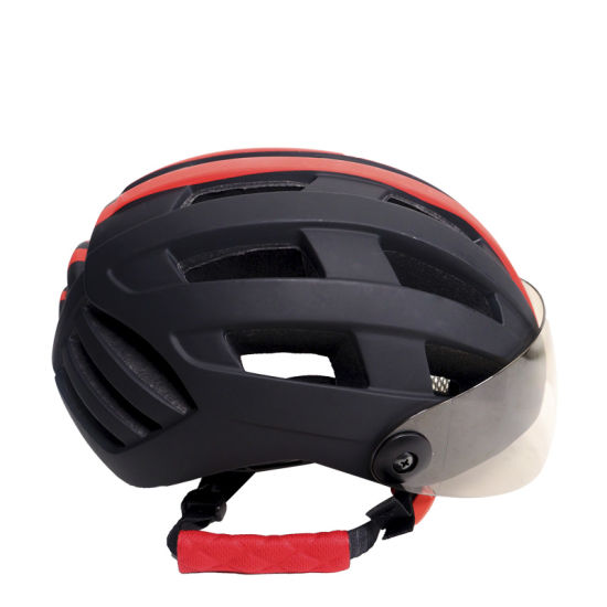 Hot Sale Classic Bicycle Skate Motorcycle Sport Helmet with Mirror Windshield