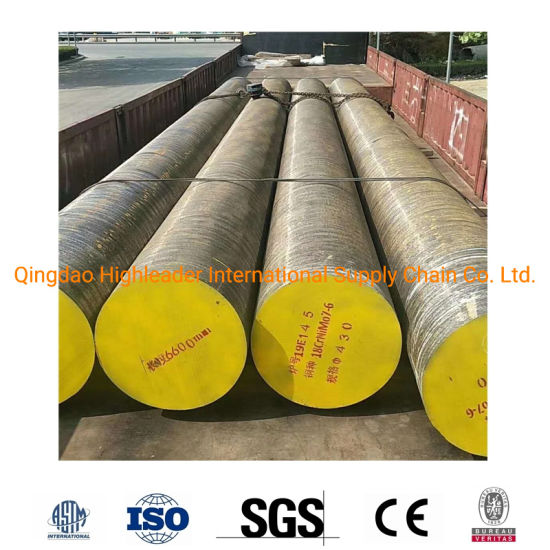 AISI 4317 17CrNiMo6 DIN1.6587 18crnimo7-6 Hot Forged Steel Round Bar Alloy Steel Bar