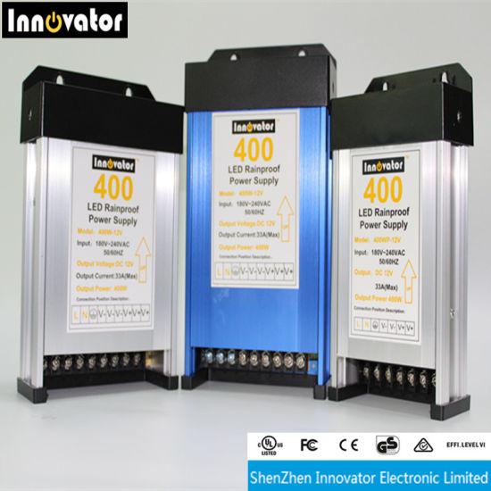 12V 400W Outdoor Light LED Rainproof Switching Power Supply