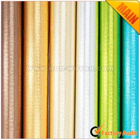 in-Fashion Metallic Non-Woven Fabric for Shopping Bags Tote Bag