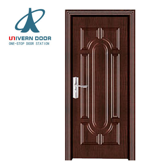 China Wooden Single Main Storm Door Design Solid Villa Entrance Wood ...