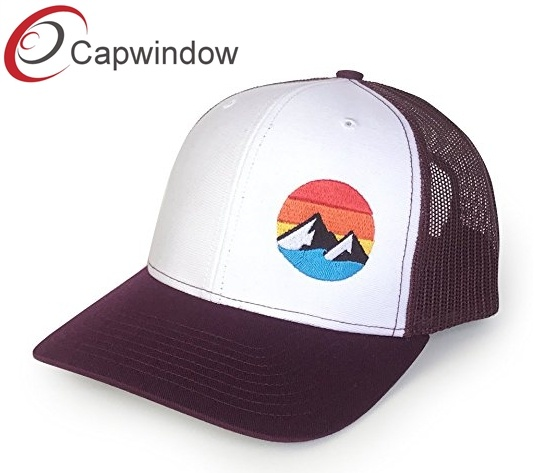 4ca11de64df80 Yupoong Trucker Hat with Customized Flat Embroidery Snap Back Baseball Cap  pictures   photos