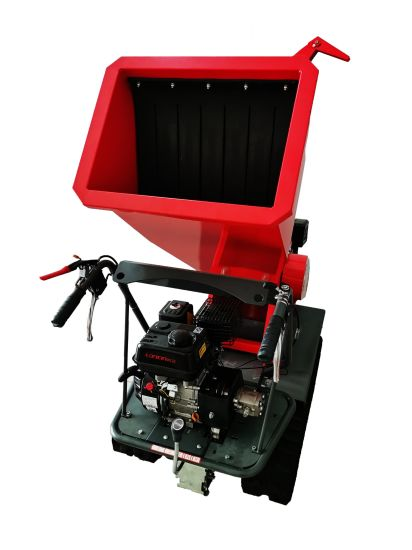 Multifunctional Gasoline and Diesel Mobile Orchard Wood Chipper