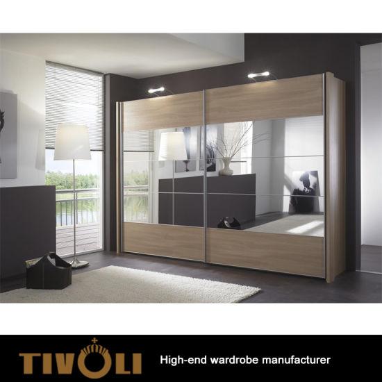 Aluminium Frame With Sliding Door Mirror Wardrobe Tv 0898 China