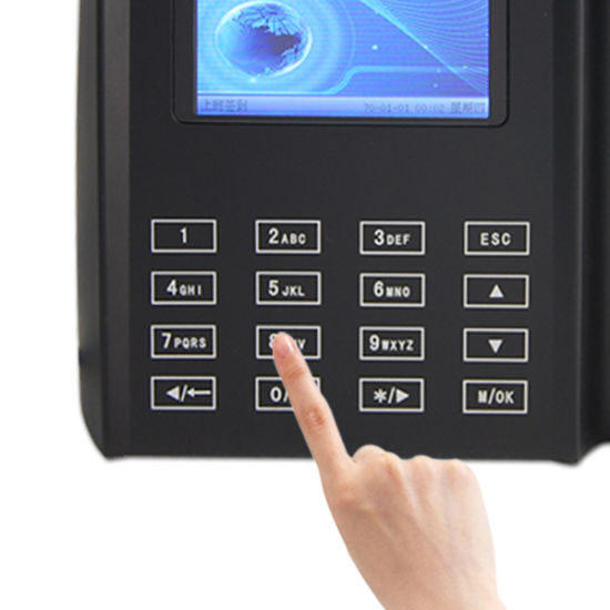 Touch Keypad Biometric Attendance Machine Support Spanish Language or  English (Qclear-TC)