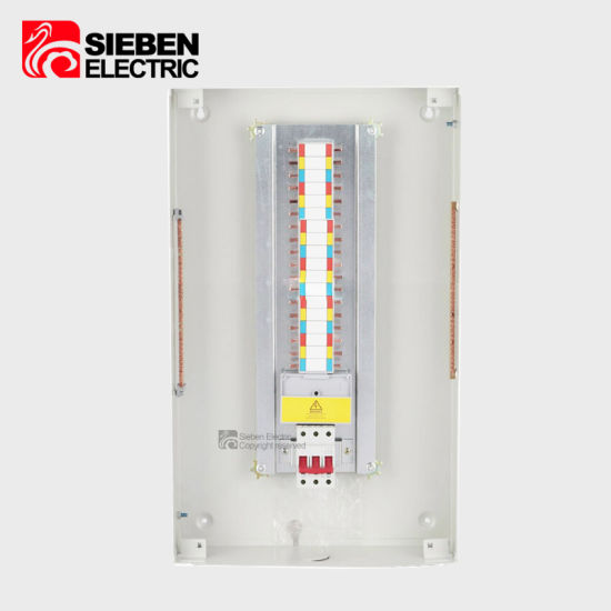 China Bus Bar Pan Type 3 Phase 12 Way 100A Electrical MCB ...