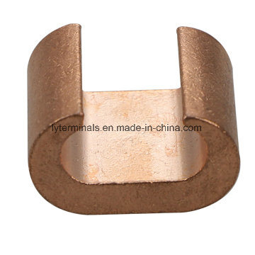 C Shape Copper Wire Clamps Terminal Connector Cable Lug Crimp Terminal Earth Clamp CRC pictures & photos