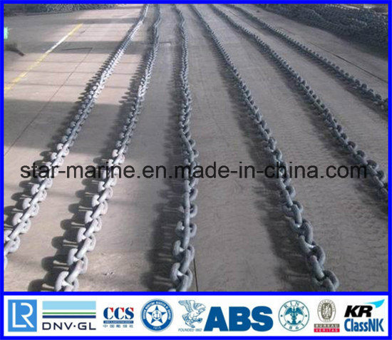 China Anchor Chain Best Quality with ABS, Lrs, BV, Nk, Dnv, Rina, Rmrs, Gl,  Irs, CCS Certificate - China Stud Link Chain, Studlink Anchor Chain