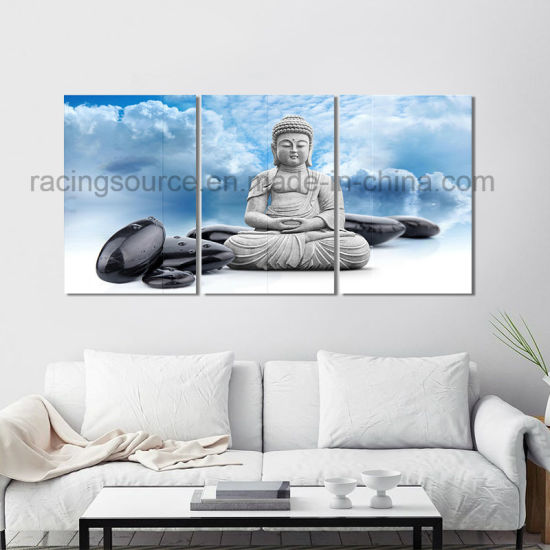 Canvas Wall Art 3panels Giclee Buda Canvas Print