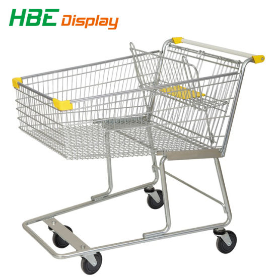 China American Style Wholesale Metal Supermarket Grocery Shopping
