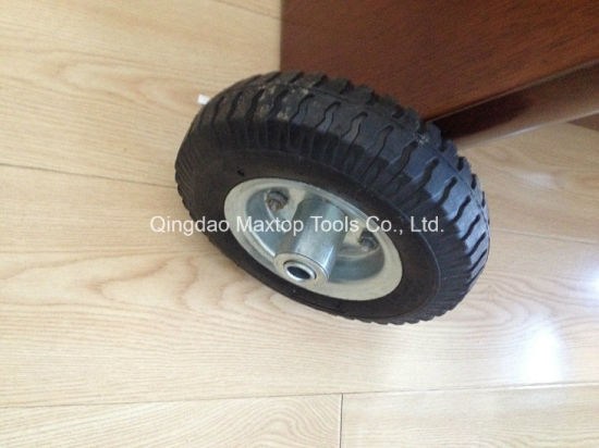 400-8 Poland Market Penumatic Rubber Wheel with Axle pictures & photos