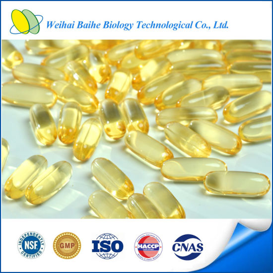 GMP Certified Fatty Acids Omega 3 Fishoil Softgel pictures & photos