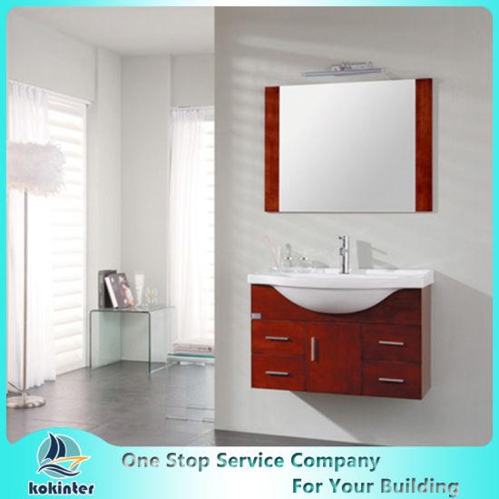 Bathroom Cabinets01 Standard Solid Wood Cabinet, Modular Cabinet/Kitchen Cabinet