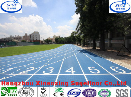 EPDM Nr Standard Synthetic Prefabricated Rubber Flooring pictures & photos