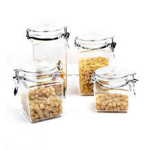 Various Capacity Glass Honey Jar and Food Storage pictures & photos