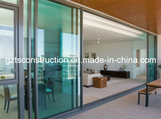 Commercial Aluminium Sliding Door with Built-in Blinds and Heavy Duty Sliding Door pictures & photos