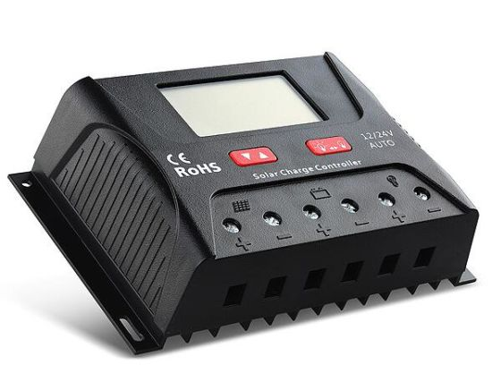 Ce RoHS Solar Charge Controller 30A Controllers (QW-SR-HP2430A)
