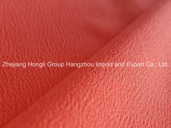 New High Twist Polyester Crepe Fabric
